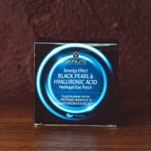 Гидрогелевые патчи — Skinlite Black Pearl & Hyaluronic Acid