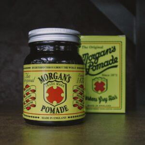 Morgan's pomade  помада для укладки волос маскирующая седину (100 гр.)