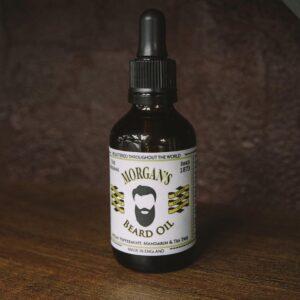MORGAN'S Масло для бороды (50г) с ароматом чайного дерева
