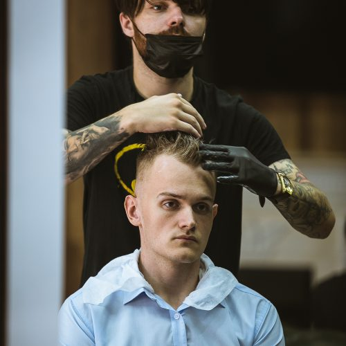 мужская стрижка в Краснодаре